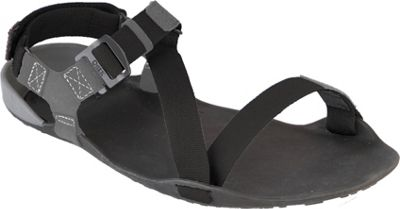 Image of Xero Shoes Amuri Z-Trek Mens Lightweight Packable Sport Sandal 13 - Coal Black / Black - Xero Shoes Men's Footwear