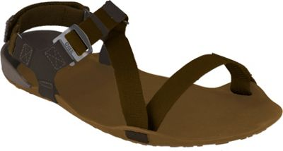 Image of Xero Shoes Amuri Z-Trek Mens Lightweight Packable Sport Sandal 11 - Mocha Earth / Coffee Bean - Xero Shoes Men's Footwear