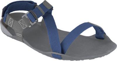 Xero Shoes Amuri Z-Trek  Mens Lightweight Packable Sport Sandal 10 - Charcoal / Patriot Blue - Xero Shoes Men's Footwear