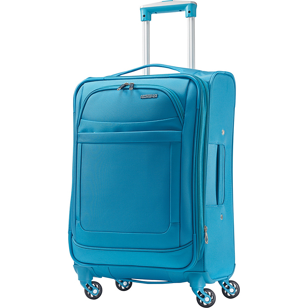 American Tourister iLite Max Spinner 21 Light Blue - American Tourister Softside Carry-On
