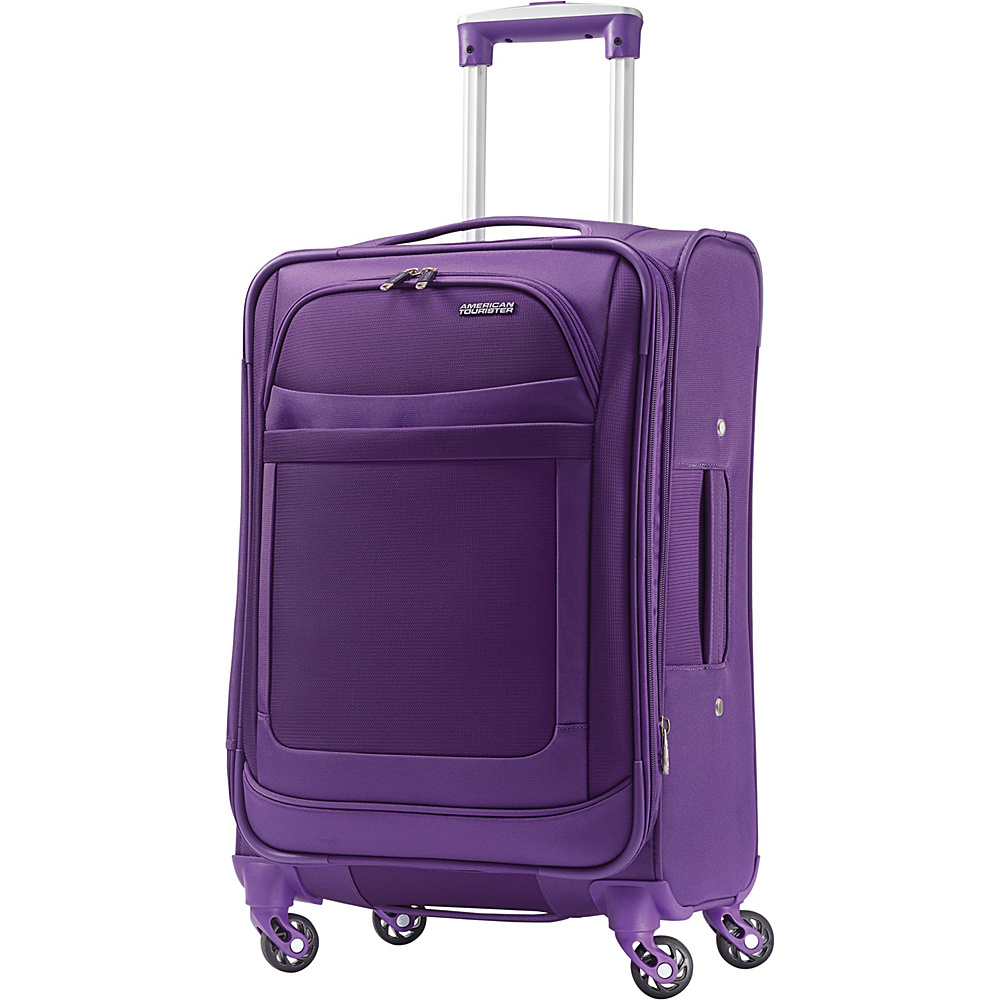 American Tourister iLite Max Spinner 21 Purple - American Tourister Softside Carry-On