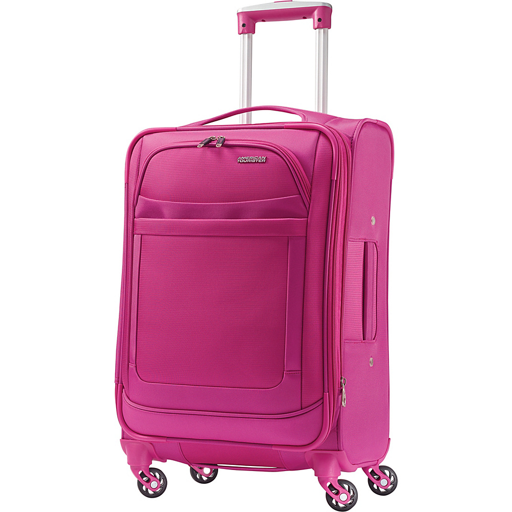 American Tourister iLite Max Spinner 21 Raspberry - American Tourister Softside Carry-On