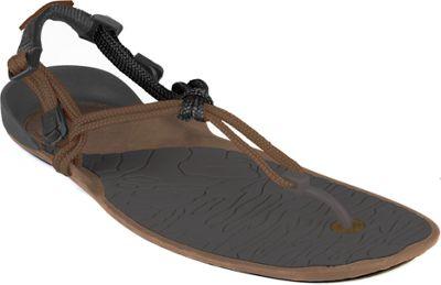 Xero Shoes Amuri Cloud  Womens Barefoot Sandal 6 - Mocha Earth / Black - Xero Shoes Women's Footwear