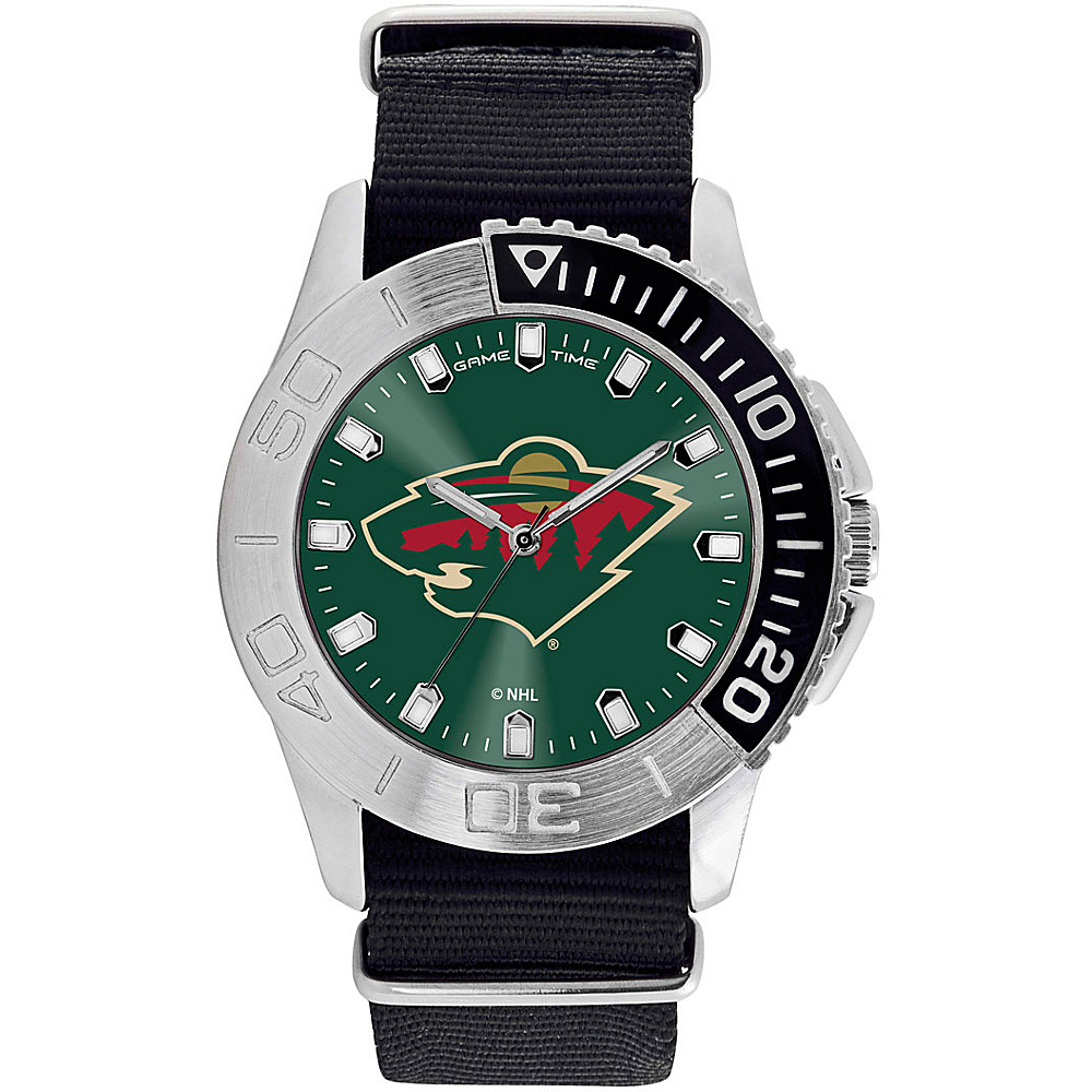 Game Time Mens Starter-NHL Watch Minnesota Wild - Game Time Watches - Fashion Accessories, Watches