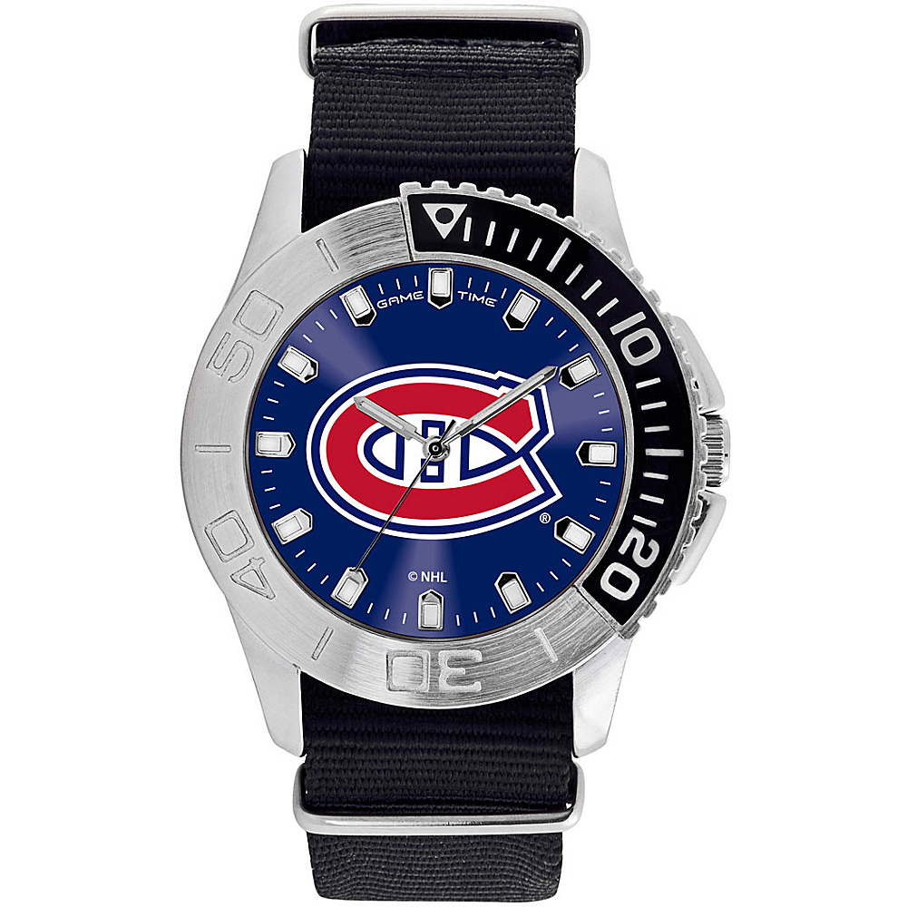 Game Time Mens Starter-NHL Watch Montreal Canadians - Game Time Watches