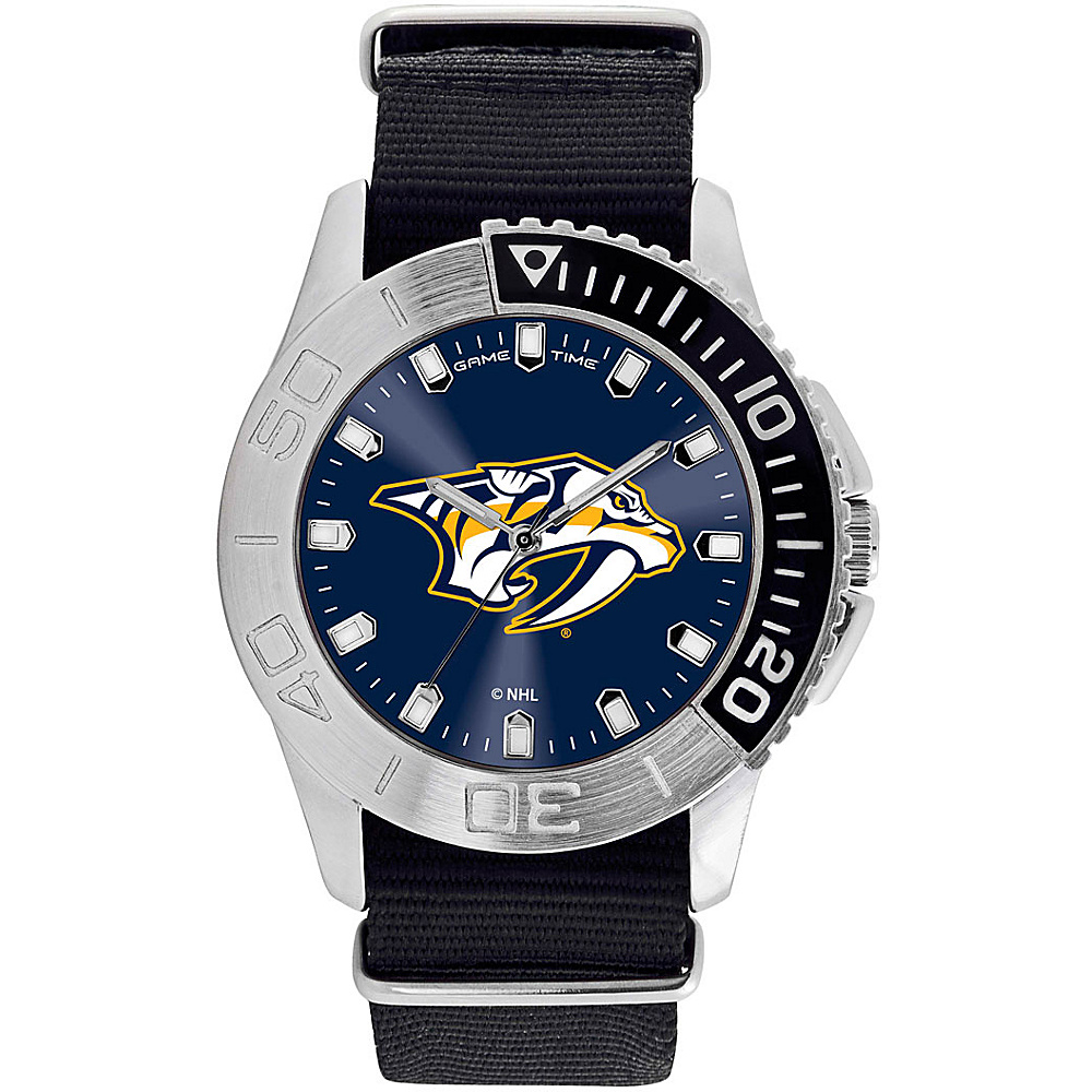 Game Time Mens Starter-NHL Watch Nashville Predators - Game Time Watches