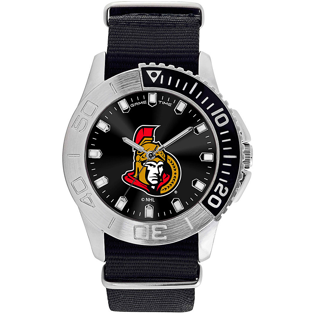Game Time Mens Starter-NHL Watch Ottawa Senators - Game Time Watches - Fashion Accessories, Watches