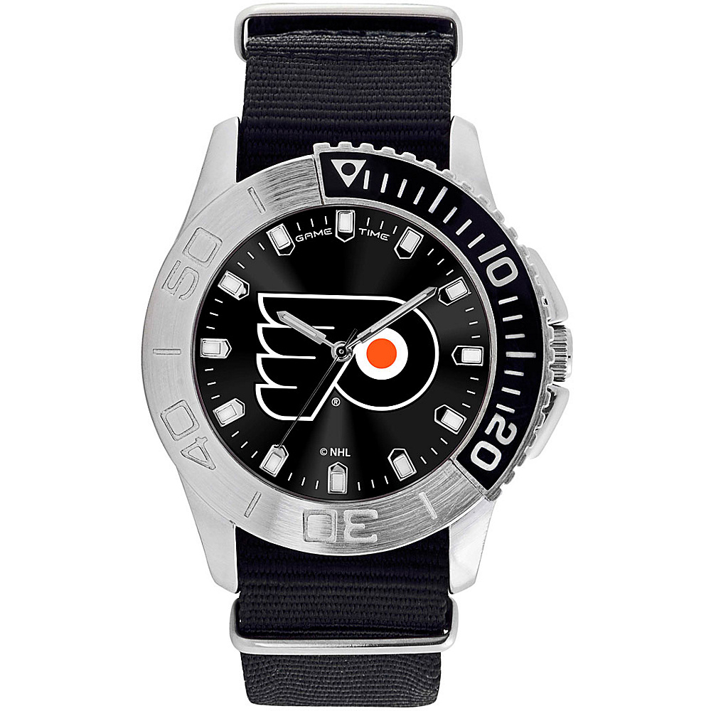 Game Time Mens Starter-NHL Watch Philadelphia Flyers - Game Time Watches - Fashion Accessories, Watches