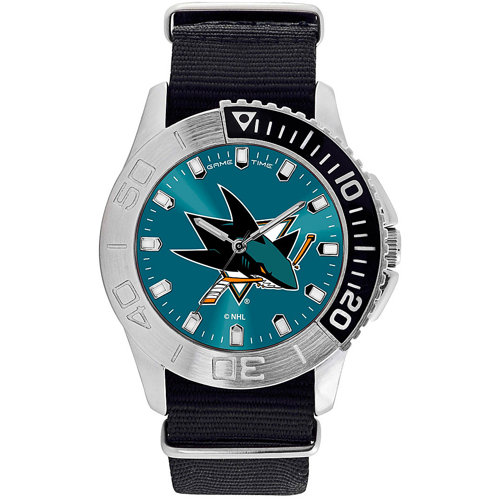 Game Time Mens Starter-NHL Watch San Jose Sharks - Game Time Watches - Fashion Accessories, Watches