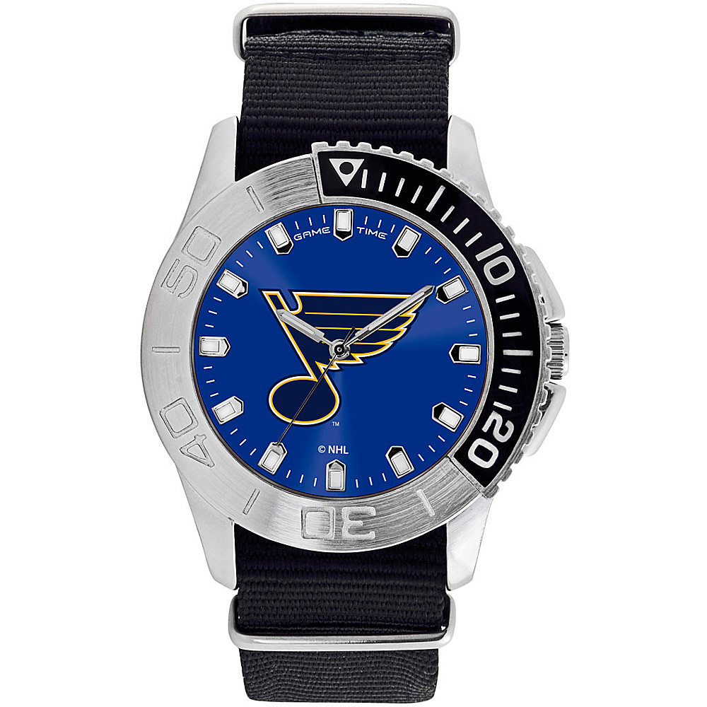 Game Time Mens Starter-NHL Watch St Louis Blues - Game Time Watches - Fashion Accessories, Watches