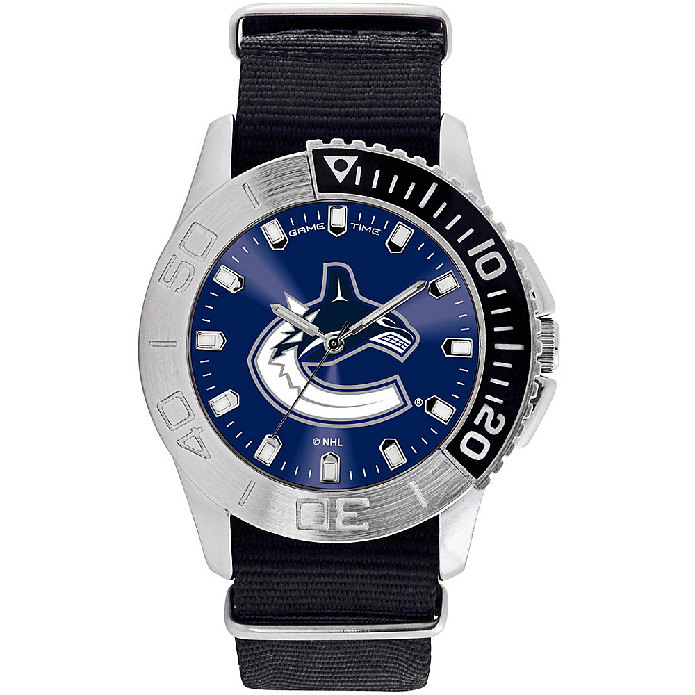 Game Time Mens Starter-NHL Watch Vancouver Canucks - Game Time Watches