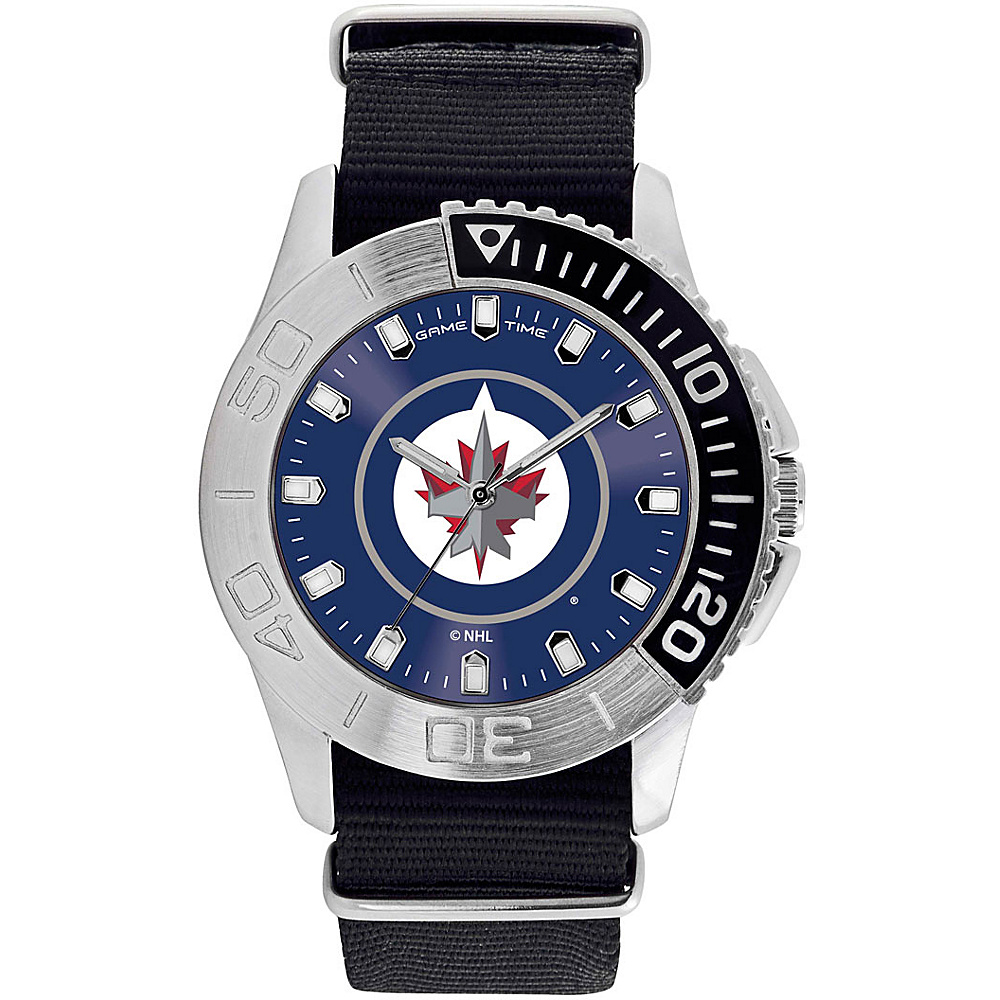 Game Time Mens Starter-NHL Watch Winnipeg Jets - Game Time Watches