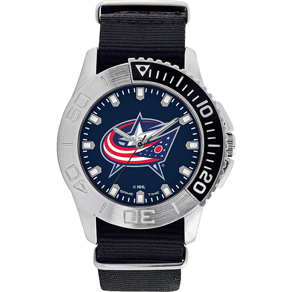 Game Time Mens Starter-NHL Watch Columbus Blue Jackets - Game Time Watches