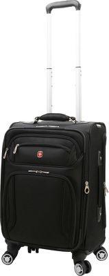Wenger Travel Gear Zurich 20 inch Pilot Case Spinner Black - Wenger Travel Gear Softside Carry-On