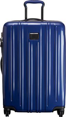 Tumi V3 Short Trip Packing Case Pacific Blue - Tumi Hardside Checked
