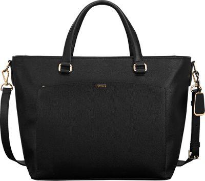Tumi Sinclair Camila Tote Black - Tumi Designer Handbags