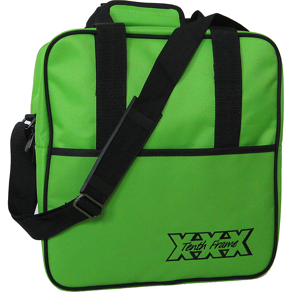 Tenth Frame Basic Single Tote Lime - Tenth Frame Bowling Bags