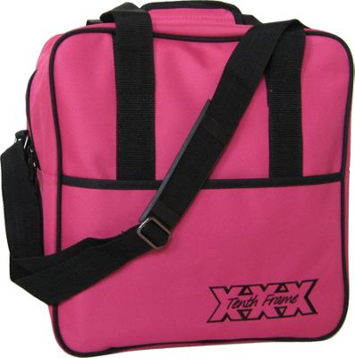 Tenth Frame Basic Single Tote Pink - Tenth Frame Bowling Bags