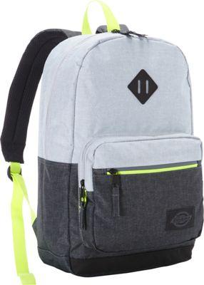 Dickies Study Hall Backpack CHARCOAL/GREY HEATHER - Dickies Everyday Backpacks