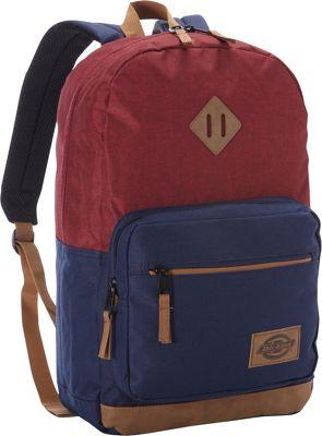 Dickies Study Hall Backpack SCARLET HEATHER/NAVY - Dickies Everyday Backpacks