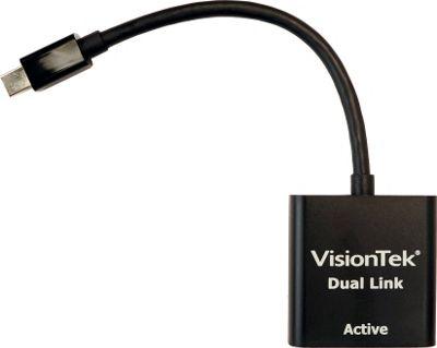 Visiontek Mini DisplayPort to Dual Link DVI-D Active Adapter