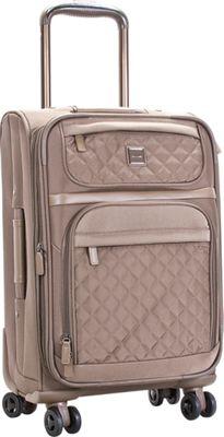 Calvin Klein Luggage Hawthorne 20 Carry-On Truffle - Calvin Klein Luggage Softside Carry-On