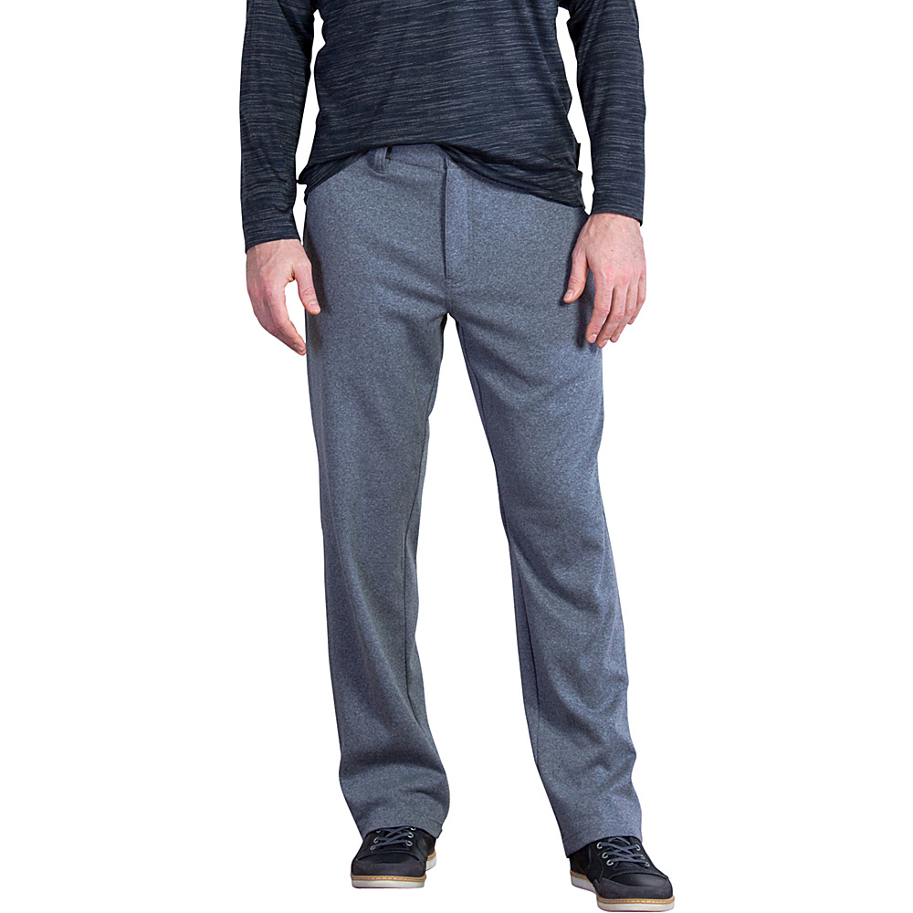ExOfficio Mens Marco Pant 34 - Dark Pebble Heather - ExOfficio Mens Apparel - Apparel & Footwear, Men's Apparel