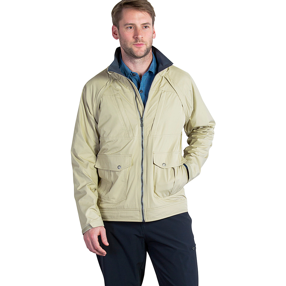 ExOfficio Mens FlyQ Convertible Jacket M - Walnut - ExOfficio Mens Apparel - Apparel & Footwear, Men's Apparel