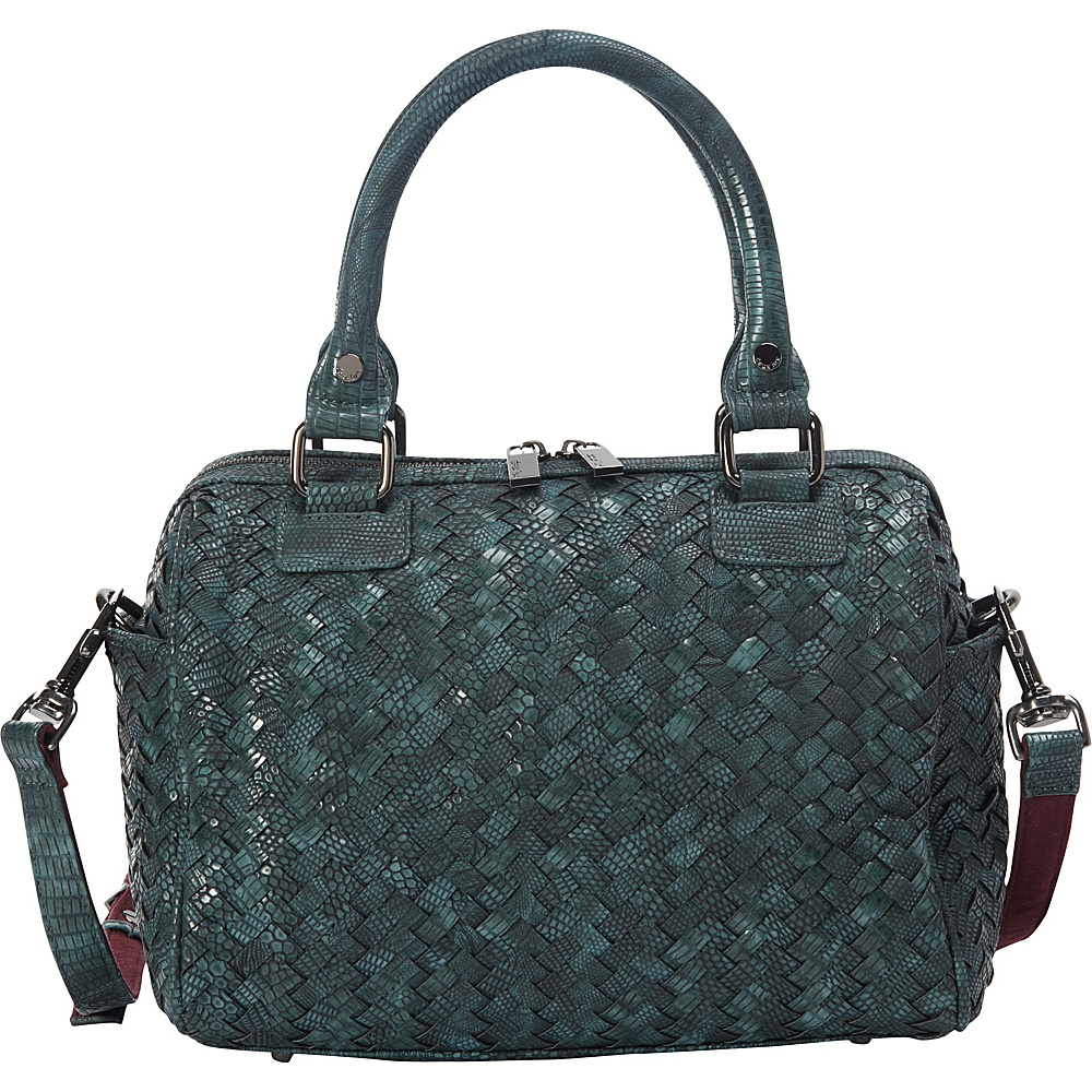 deux lux Reade Duffle Bag Teal deux lux Manmade Handbags