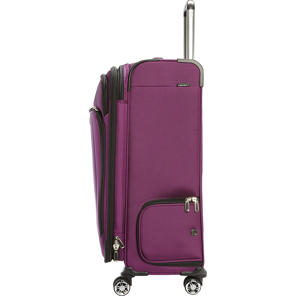 delsey helium cruise 21 and 25 spinner luggage set. Black Bedroom Furniture Sets. Home Design Ideas