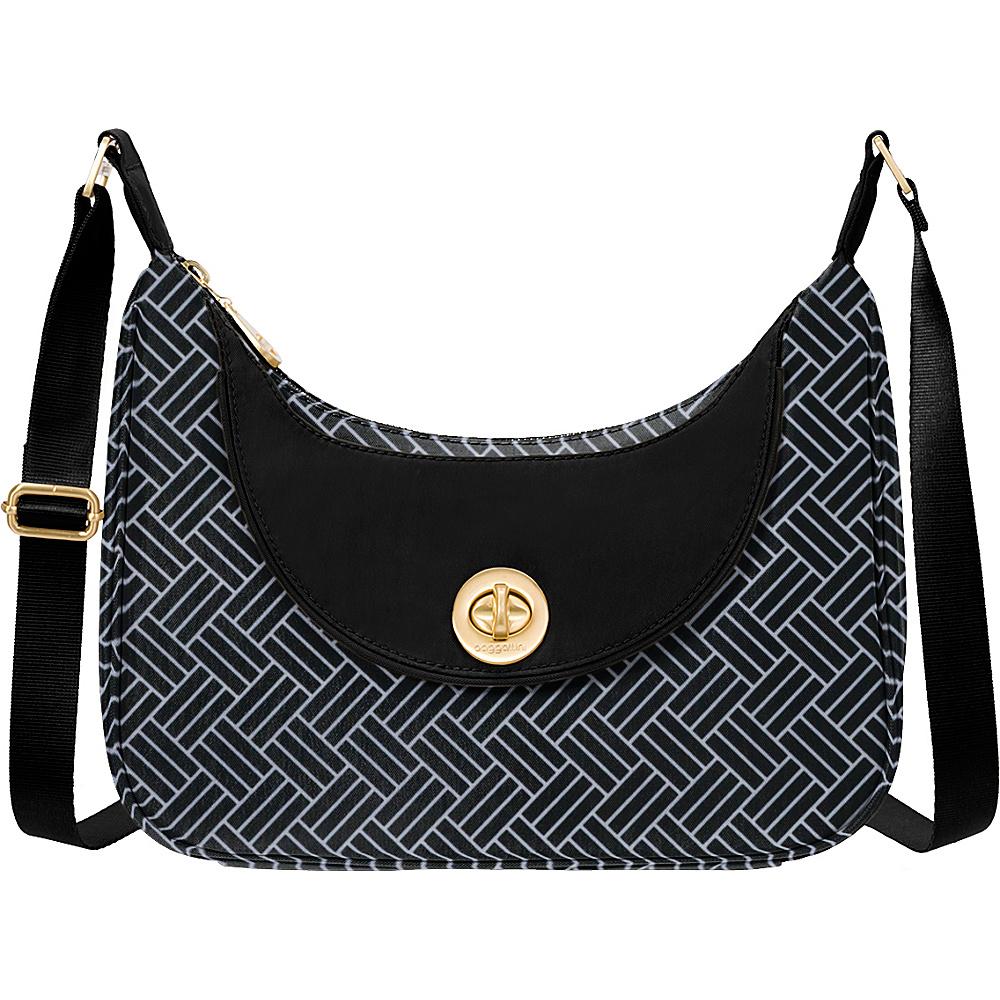 baggallini Oslo Small Hobo Basket Weave - baggallini Fabric Handbags - Handbags, Fabric Handbags
