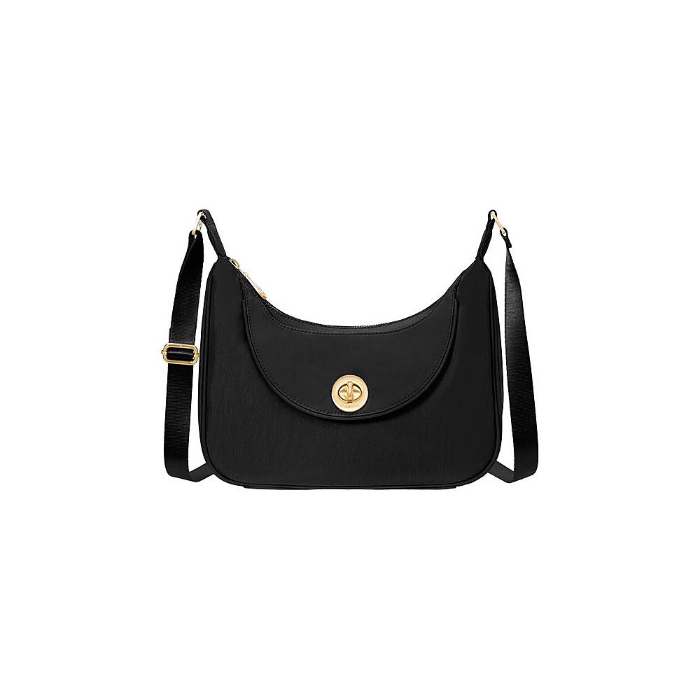 baggallini Oslo Small Hobo Black - baggallini Fabric Handbags - Handbags, Fabric Handbags