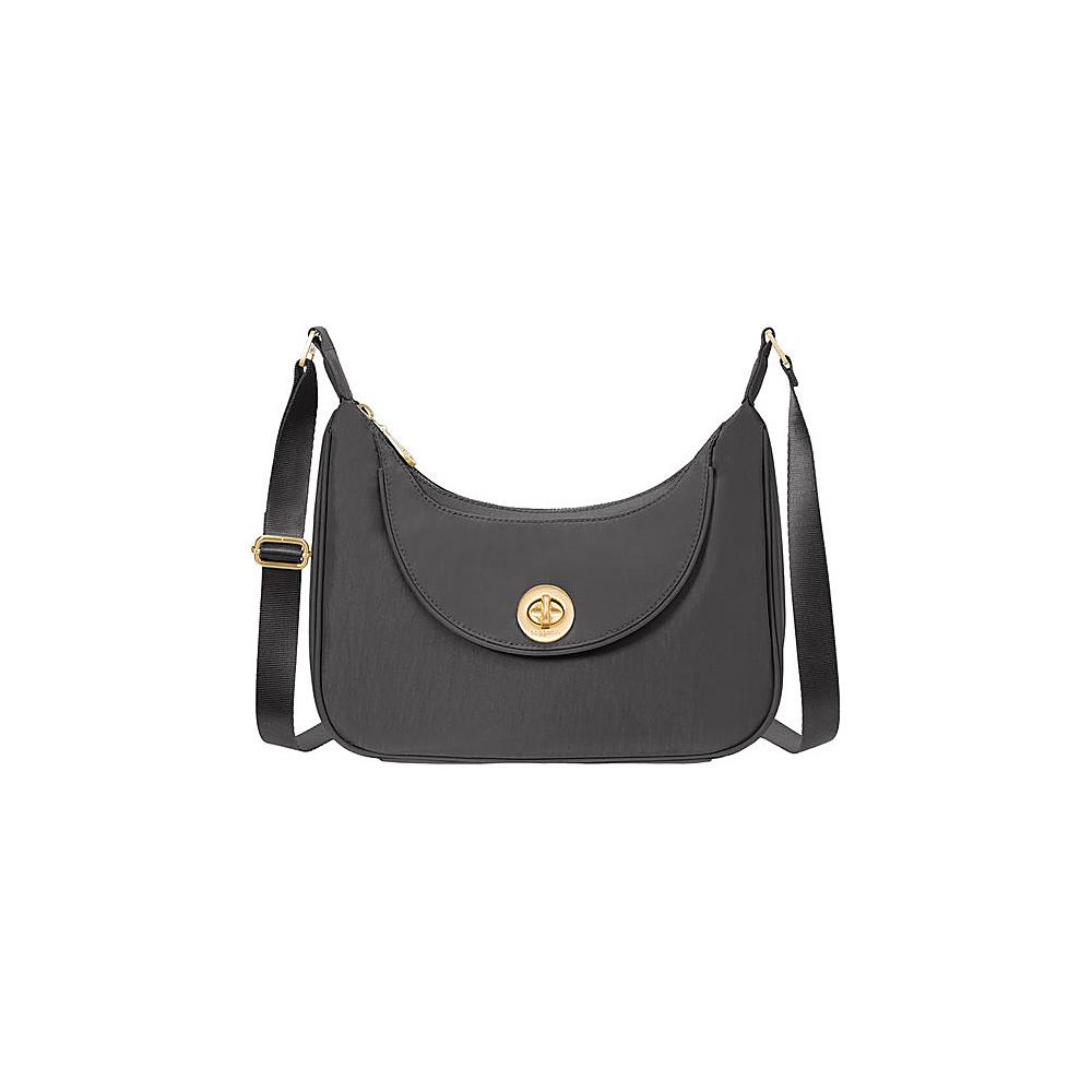 baggallini Oslo Small Hobo Charcoal - baggallini Fabric Handbags - Handbags, Fabric Handbags