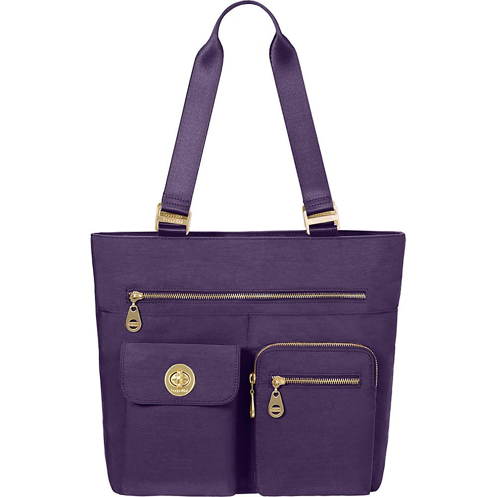 baggallini Tulum Tote - Retired Colors Grape - baggallini Fabric Handbags