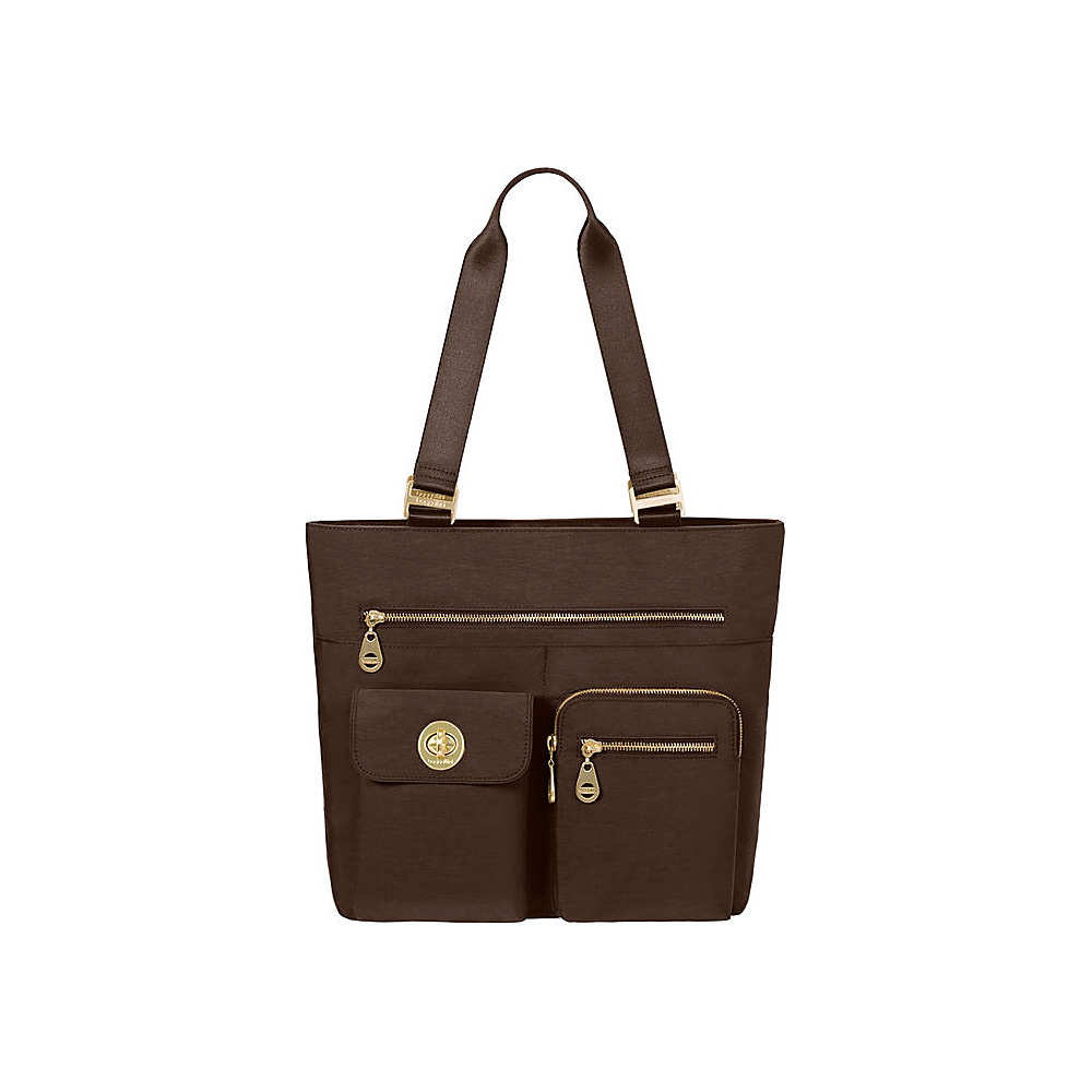 baggallini Tulum Tote - Retired Colors Java - baggallini Fabric Handbags