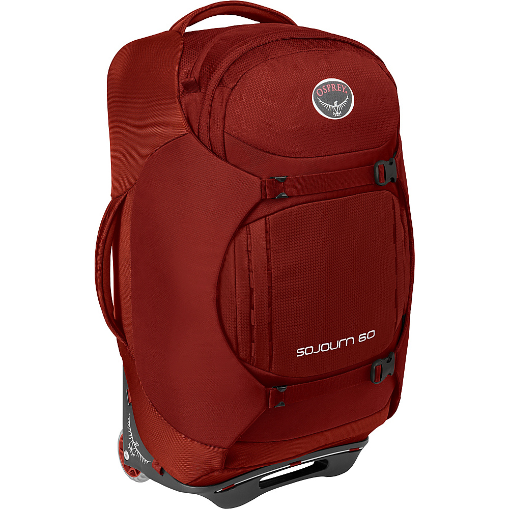 Osprey Sojourn 60L/25 Checked Luggage Hoodoo Red - Osprey Softside Checked - Luggage, Softside Checked