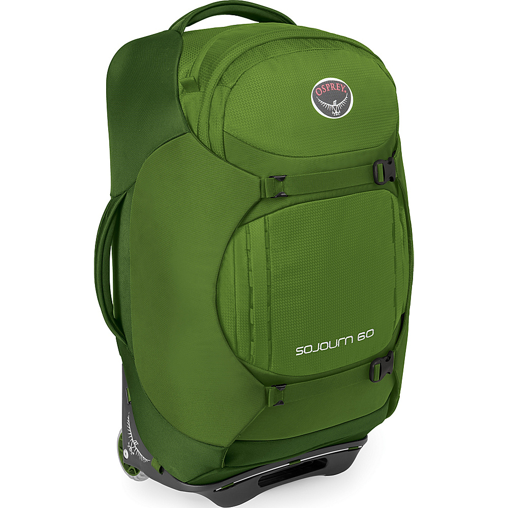 Osprey Sojourn 60L/25 Checked Luggage Nitro Green- DISCONTINUED - Osprey Softside Checked - Luggage, Softside Checked