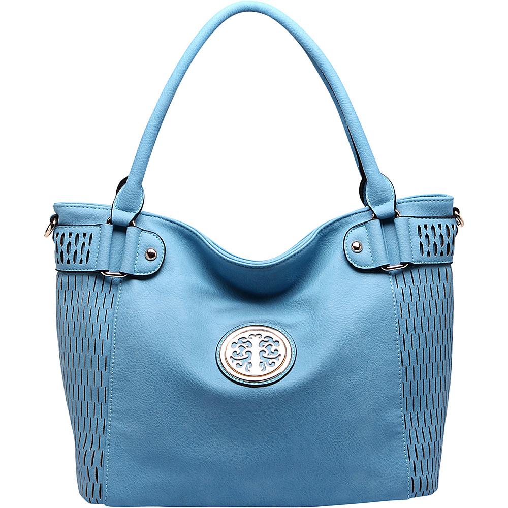 MKF Collection Denver Tote Bag Blue - MKF Collection Manmade Handbags - Handbags, Manmade Handbags