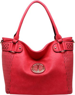 MKF Collection by Mia K. Farrow Denver Tote Bag Red - MKF Collection by Mia K. Farrow Manmade Handbags
