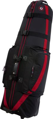 Golf Travel Bags LLC Medallion 6.0 Black/Red - Golf Travel Bags LLC Golf Bags