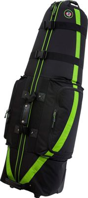 Golf Travel Bags LLC Medallion 6.0 Black/Lime - Golf Travel Bags LLC Golf Bags