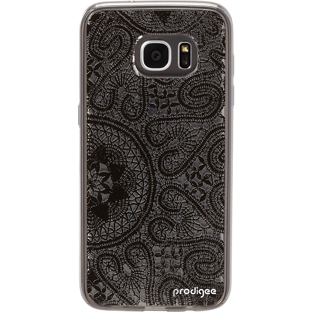 Prodigee Scene Case for Samsung S7 Edge Lace Black Prodigee Electronic Cases