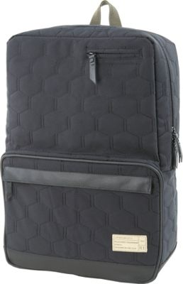 HEX Origin Quilted Nylon Backpack Empire Black Quilt - HEX Business & Laptop Backpacks
