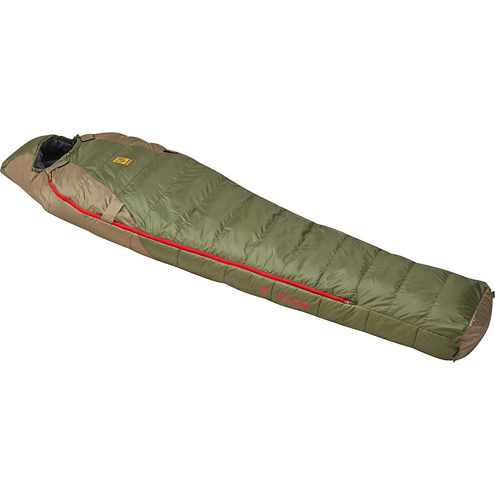 Slumberjack Lapland 20 Degree Reg Hybrid Dual Zipper Two Tone Green Slumberjack Outdoor Accessories