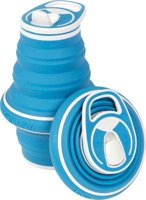 Hydaway Collapsible Water Bottle-21 oz. Bluesteel - Hydaway Hydration Packs and Bottles