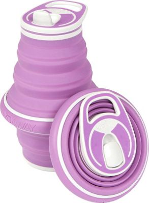 Hydaway Collapsible Water Bottle-21 oz. Grape - Hydaway Hydration Packs and Bottles