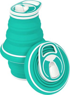 Hydaway Collapsible Water Bottle-21 oz. Opal - Hydaway Hydration Packs and Bottles