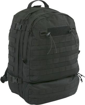 Highland Tactical Armour Heavy Duty Tactical Backpack Black - Highland Tactical Tactical