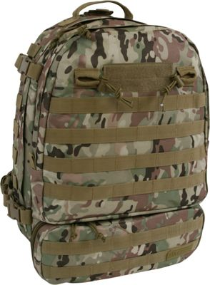 Highland Tactical Armour Heavy Duty Tactical Backpack Camo - Highland Tactical Tactical