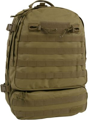 Highland Tactical Armour Heavy Duty Tactical Backpack Tan - Highland Tactical Tactical